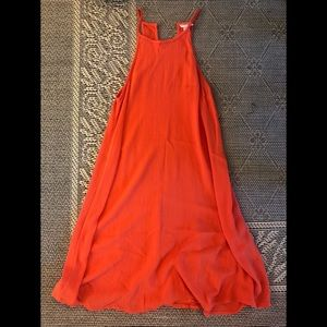 Orange sundress